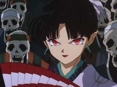 Naraku's Barrier -- Kagura's Decision