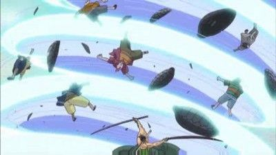 Explosive Move! Zoro and Sanji Sally Forth!