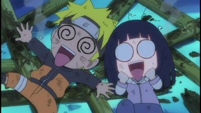 Boom! The Shinobi Fireworks Show! / Bang! Tenten's Acting Weird!