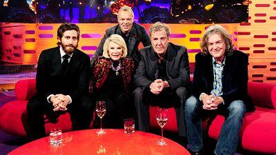 Jake Gyllenhaal, Jeremy Clarkson, James May, Joan Rivers and Ke$ha