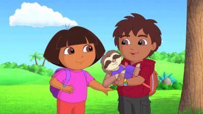 Dora and Diego's Amazing Animal Circus Adventure