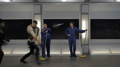 Space Janitors Have Dreams, Too