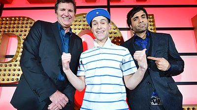 Lee Nelson, Stewart Francis and Paul Chowdhry