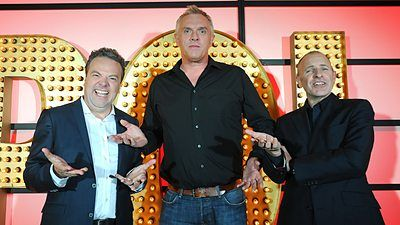 Greg Davies, Hal Cruttenden and Simon Evans