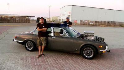 Release The Draguar! Building a Blown Jaguar Rat Rod