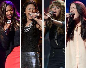 Semifinalist Round, Part 1 -- Girls Perform