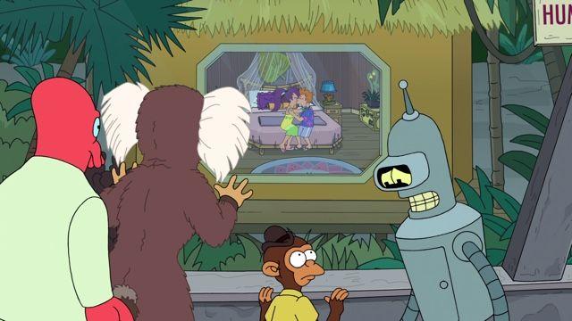 Fry and Leela's Big Fling