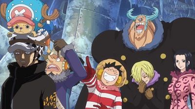Formation! The Pirate Alliance Luffy-Law!