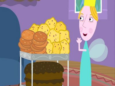 The Queen Bakes Cakes