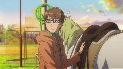 Hachiken Rides a Horse