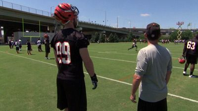 Training Camp With The Cincinnati Bengals #2
