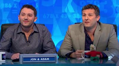 Lee Mack, Bob Mortimer, Adam Hills, Alex Horne and The Horne Section