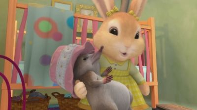 The Tale of Cottontail's New Friend