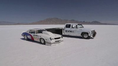 Chasing a Landspeed Record at Bonneville with a 1100hp Camaro!