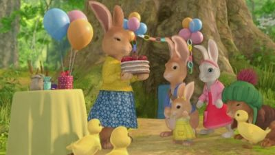 The Tale of Cottontail's Cake