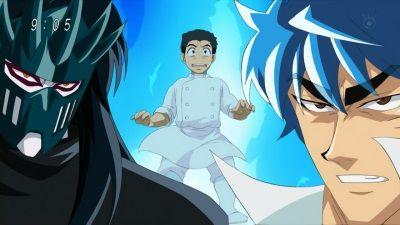 Protect Komatsu! Toriko vs. Starjun!