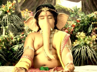 Indradev Panics On Seeing Trishula's Tapasya