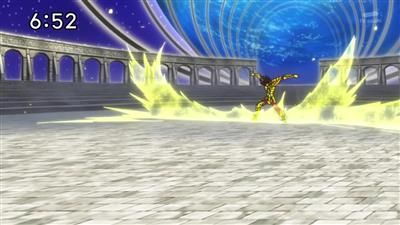 Surpass a God! Seiya's Cosmo!
