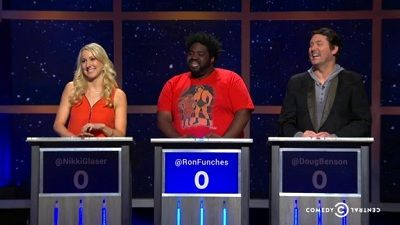 Nikki Glaser, Ron Funches, Doug Benson