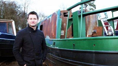 Narrow Boat, Cream Tea Campervan and 50s Trailer