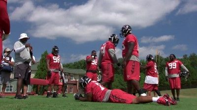 Training Camp with the Atlanta Falcons - #5