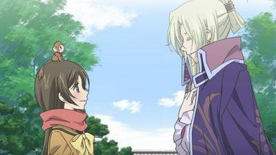The Deity Meets a Little Tengu