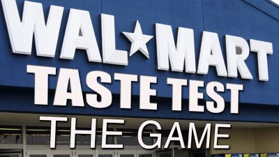 Walmart Brand vs Name Brand Taste Test - The Game