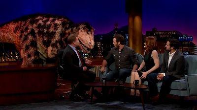 Chris Pratt, Bryce Dallas Howard, Jake Johnson
