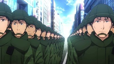 JSDF Goes to Another World
