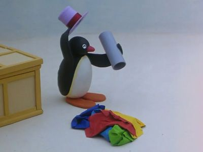 Pingu the Apprentice Magician