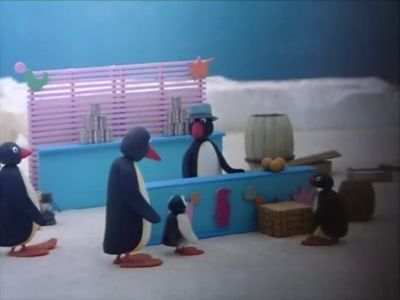 Pingu at the Fairground