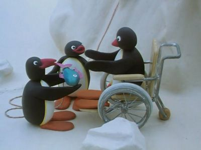 Pingu and the Disabled Penguin