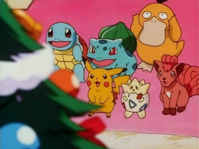 Pikachu's Winter Vacation: Christmas Night
