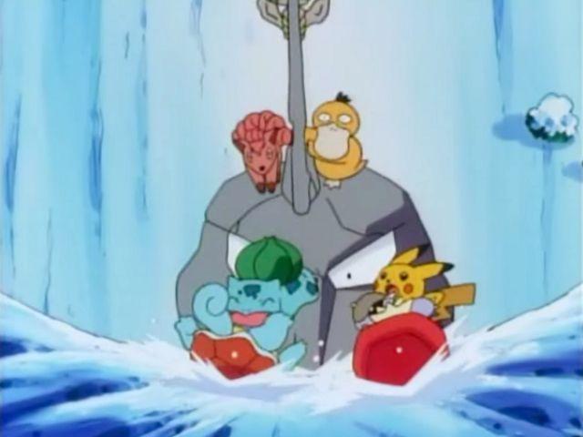 Pikachu's Winter Vacation: Kanga Games