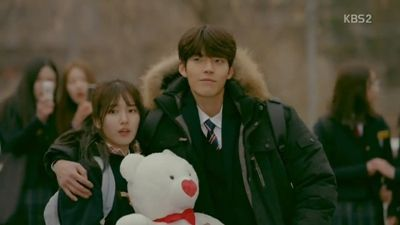 Joon Young and Eul in High School