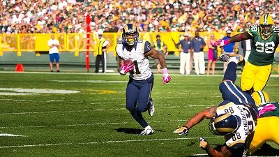 Training Camp with the Los Angeles Rams #4