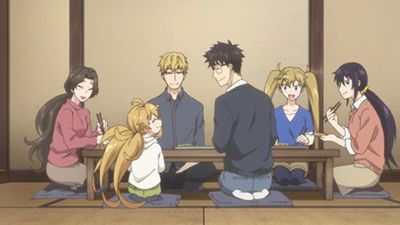 Okonomiyaki Filled With Affection