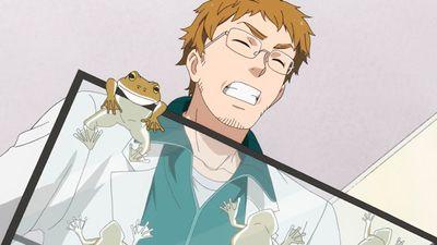 Handa-kun and the Frog | Handa-kun and the Stalker