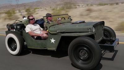 Rat Rod Jeep Death-Wish Trip!