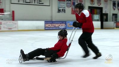 S-L-- SLED H-O-- HOCKEY