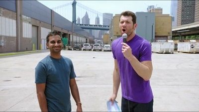Aziz on the Street!