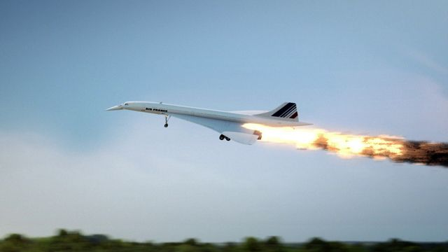 Concorde - Up in Flames