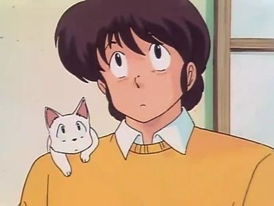 Godai's Panic! The Cat Who Came to Ikkoku.