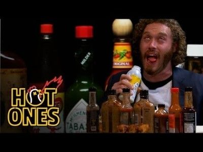 T.J. Miller Talks Deadpool, Hecklers, and Relationship Advice While Eating Spicy Wings