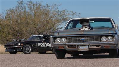 Blown Impala Vs. Turbo Rotsun!