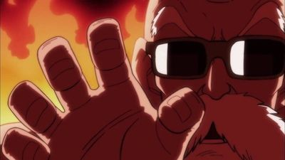 A Valiant Fight! Master Roshi's Blaze of Glory!