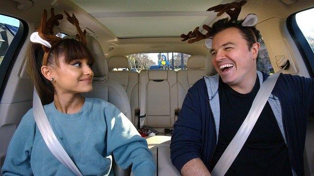 Seth MacFarlane & Ariana Grande