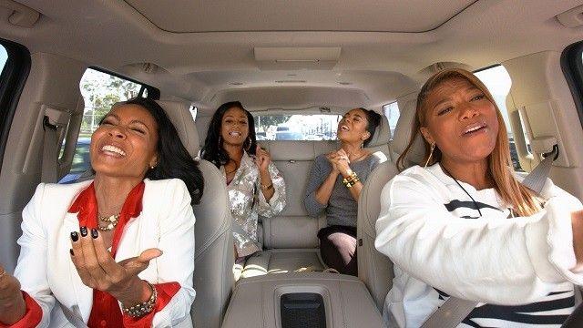Queen Latifah & Jada Pinkett Smith