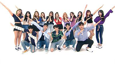 Episode 318 with Raina, Han Dong-geun, NU'EST W & Pristin (1) (Pledis Family Special)