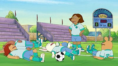 Francine and the Soccer Spy